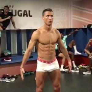 Cristiano Ronaldo underwear photoshoot