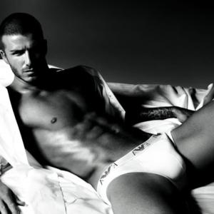 David Beckham Armani Underwear Photoshoot