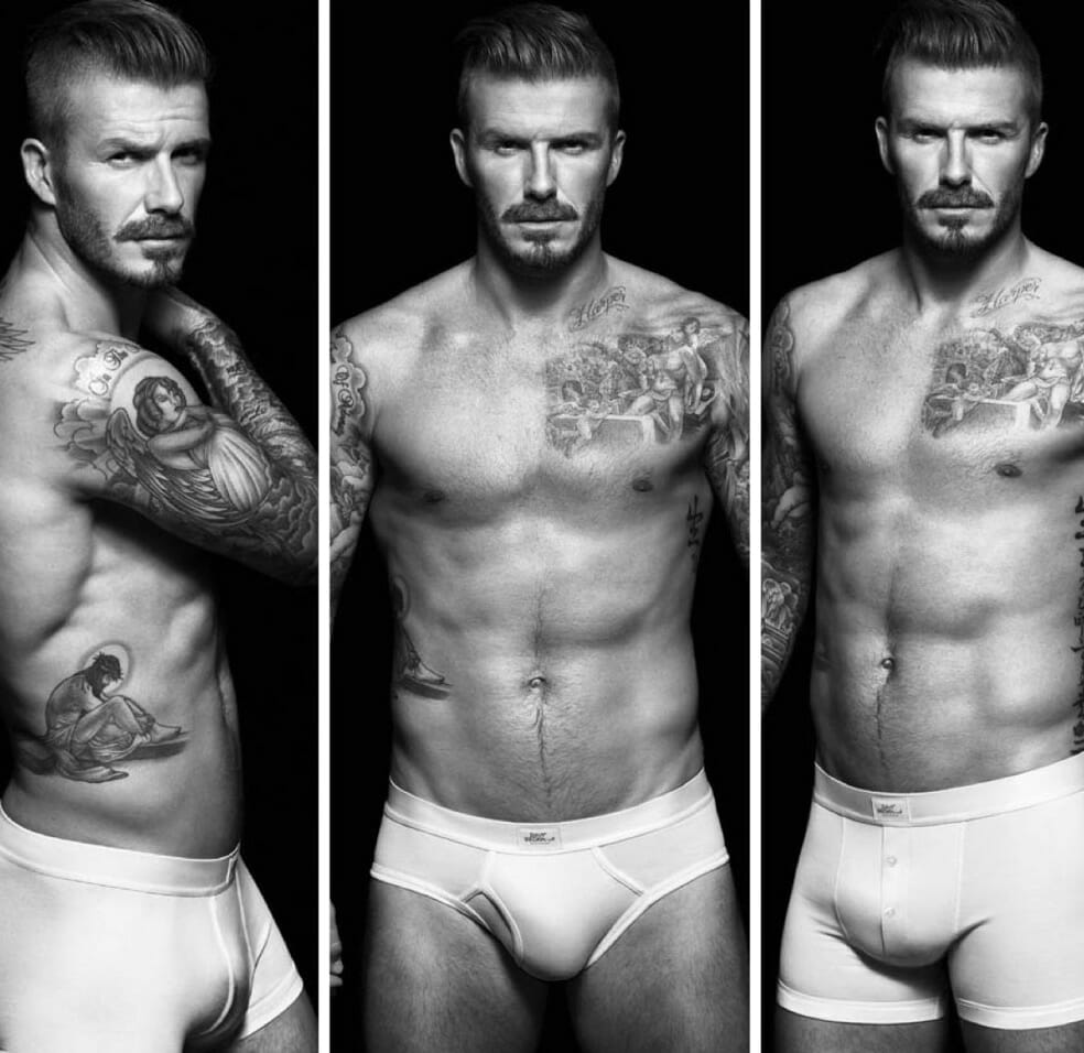 David Beckham underwear model