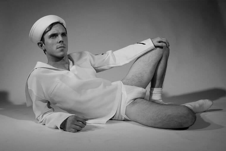 Jake Shear sexy underwear photo
