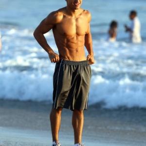 Mario Lopez bulge in shorts