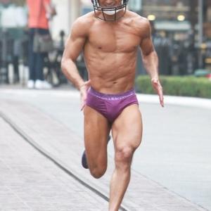 Mario Lopez tasty bulge in purple undies