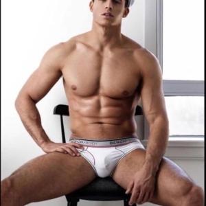 Pietro Boselli bulge revealed in shoot