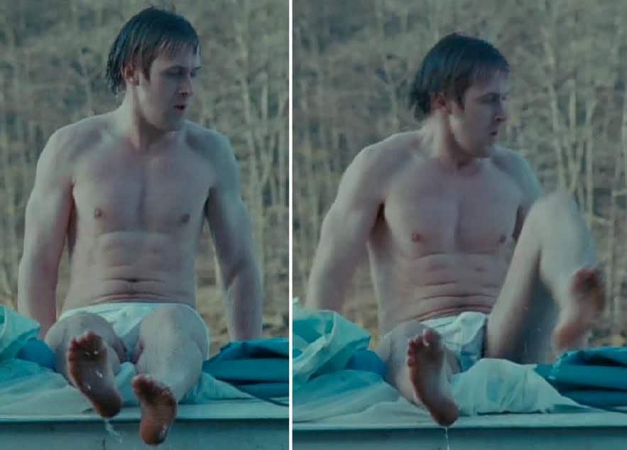 Ryan Gosling penis bulge