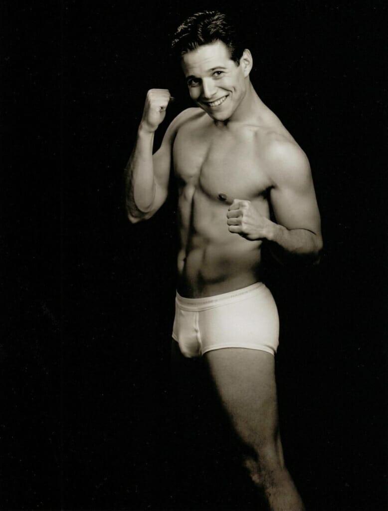 Scott Wolf briefs and bulge