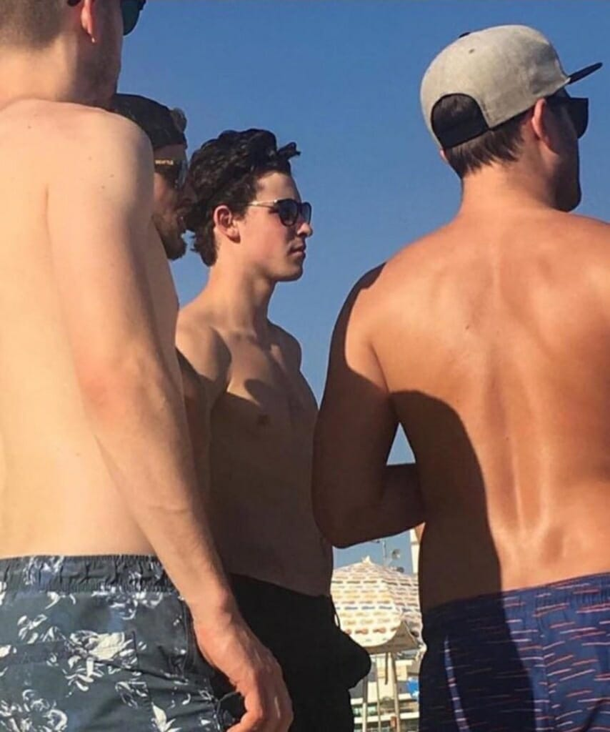 Shawn Mendes dick bulge in shorts