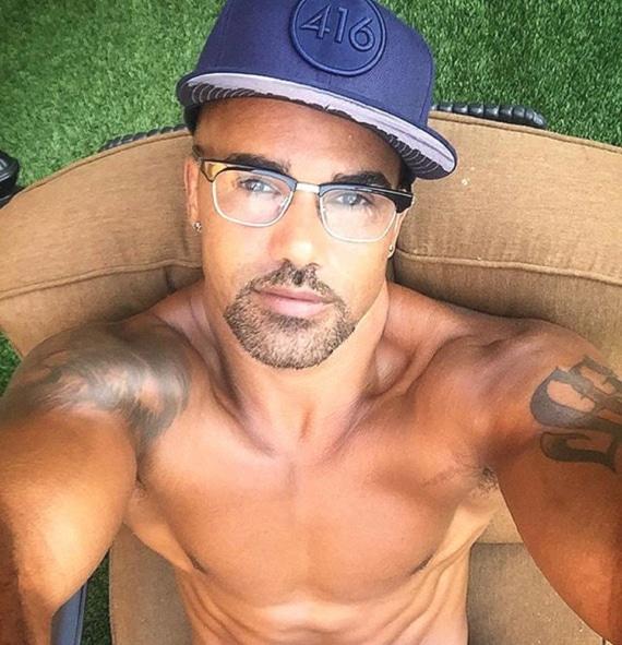 Shemar Moore hot selfie