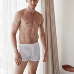 Tom Hiddleston cock in white boxers