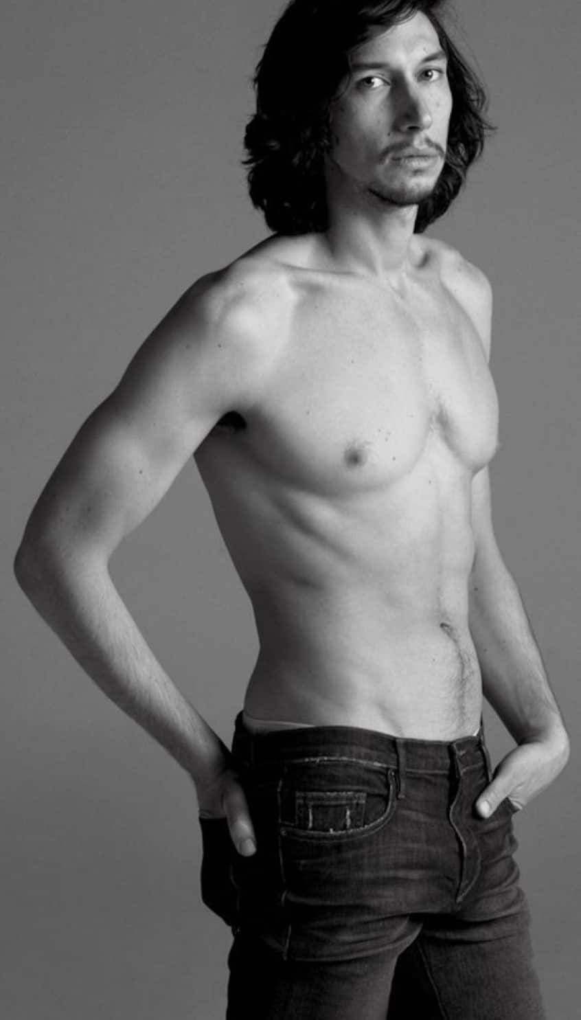 Adam Driver naked