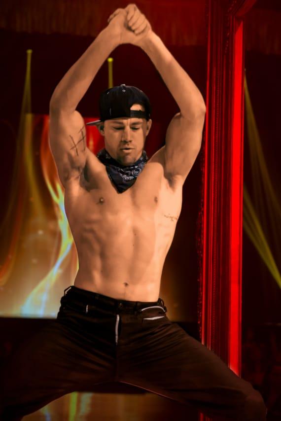 Channing Tatum male stripper