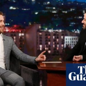 Ryan Gosling penis line in suit