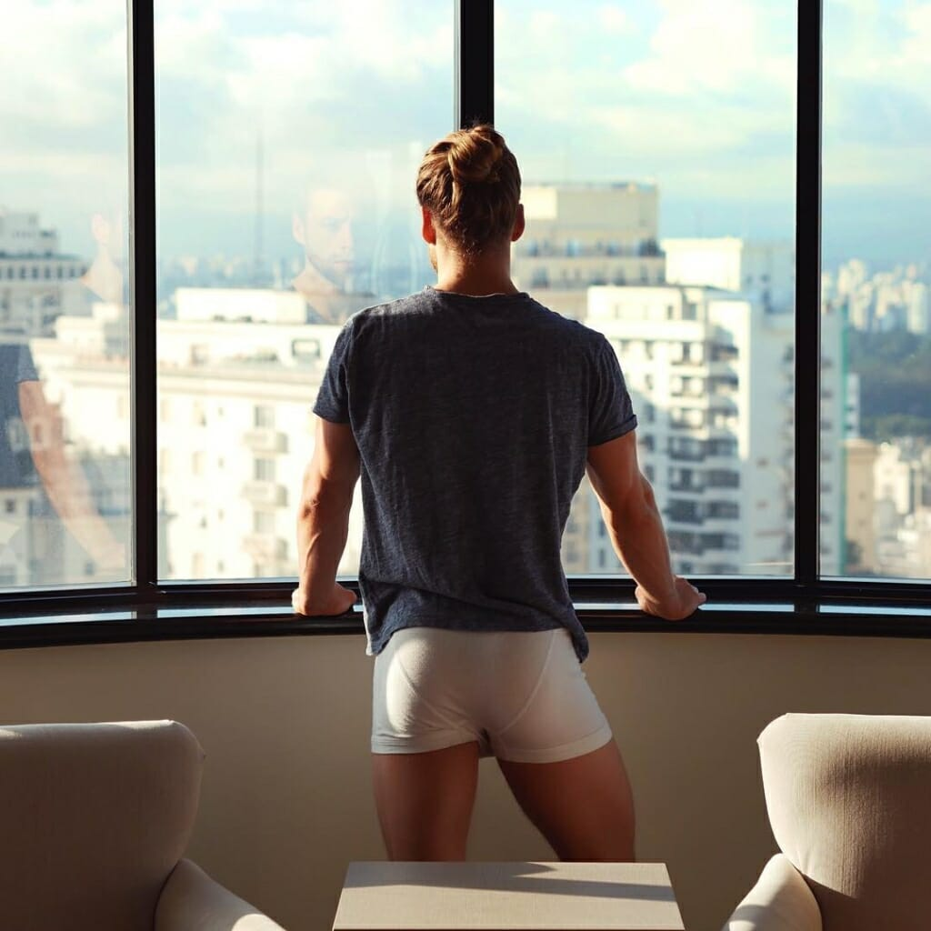 Mitch Hewer underwear