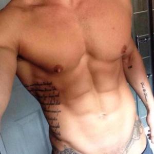 Lotan Carter shirtless