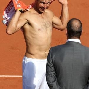 Rafael Nadal bulge
