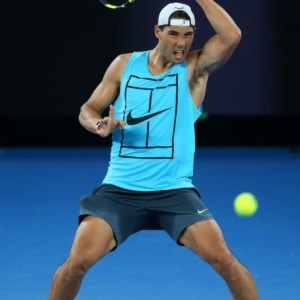 Rafael Nadal shirtless picture