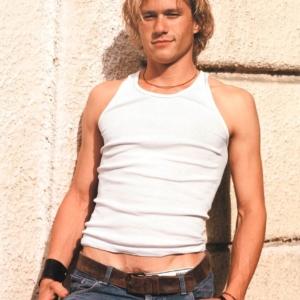 Heath Ledger naked