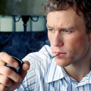 Heath Ledger shirtless