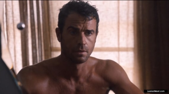 Justin Theroux chest