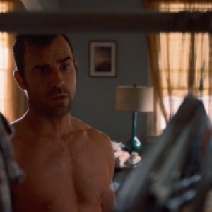 Justin Theroux jerking off
