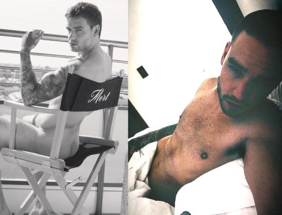 Liam Payne naked