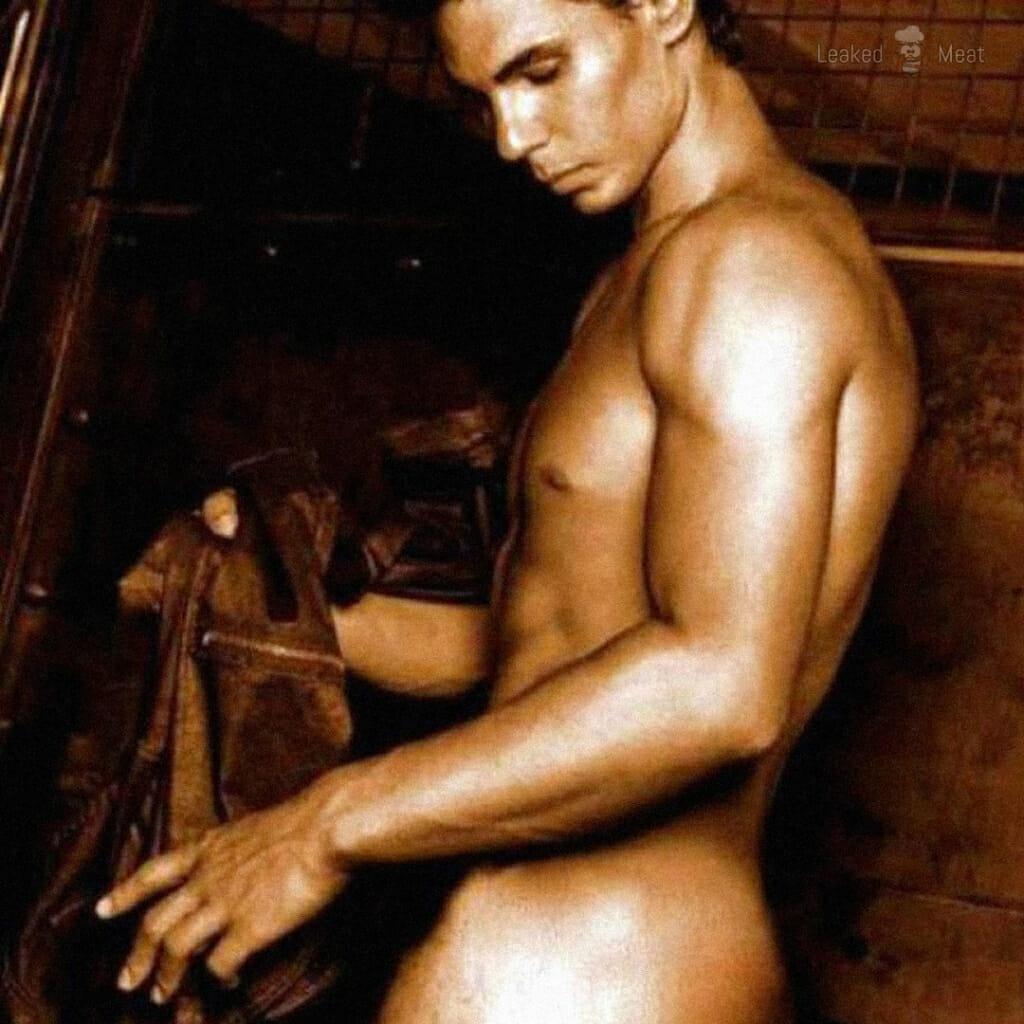 Rafael Nadal naked Armani ad