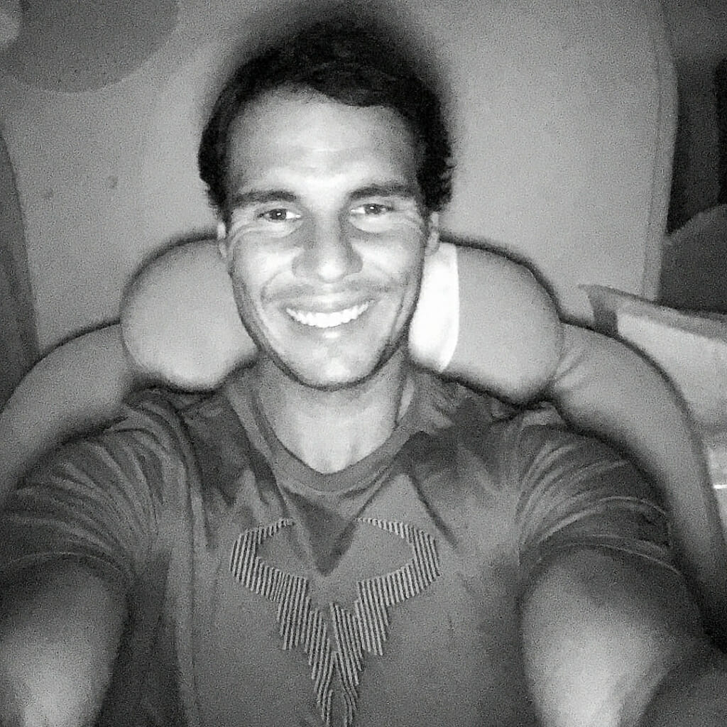 Rafael Nadal selfie
