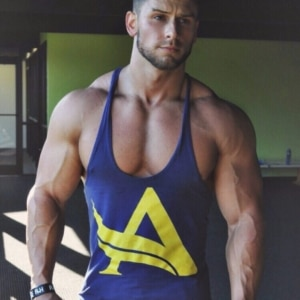 Chase Ketron nice muscles