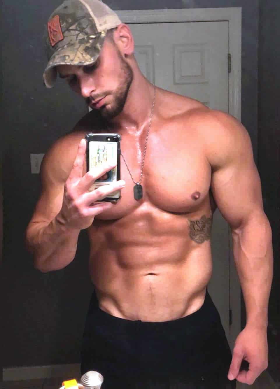 Chase Ketron sexy selfie