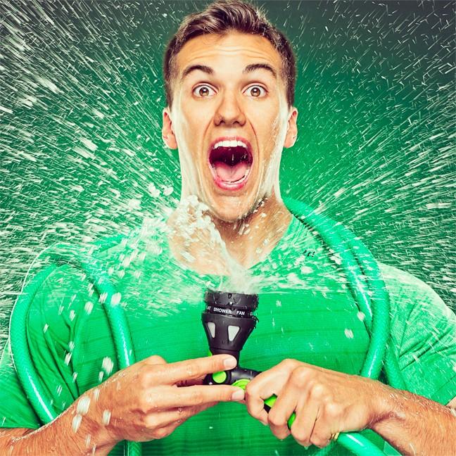 Cory George wet