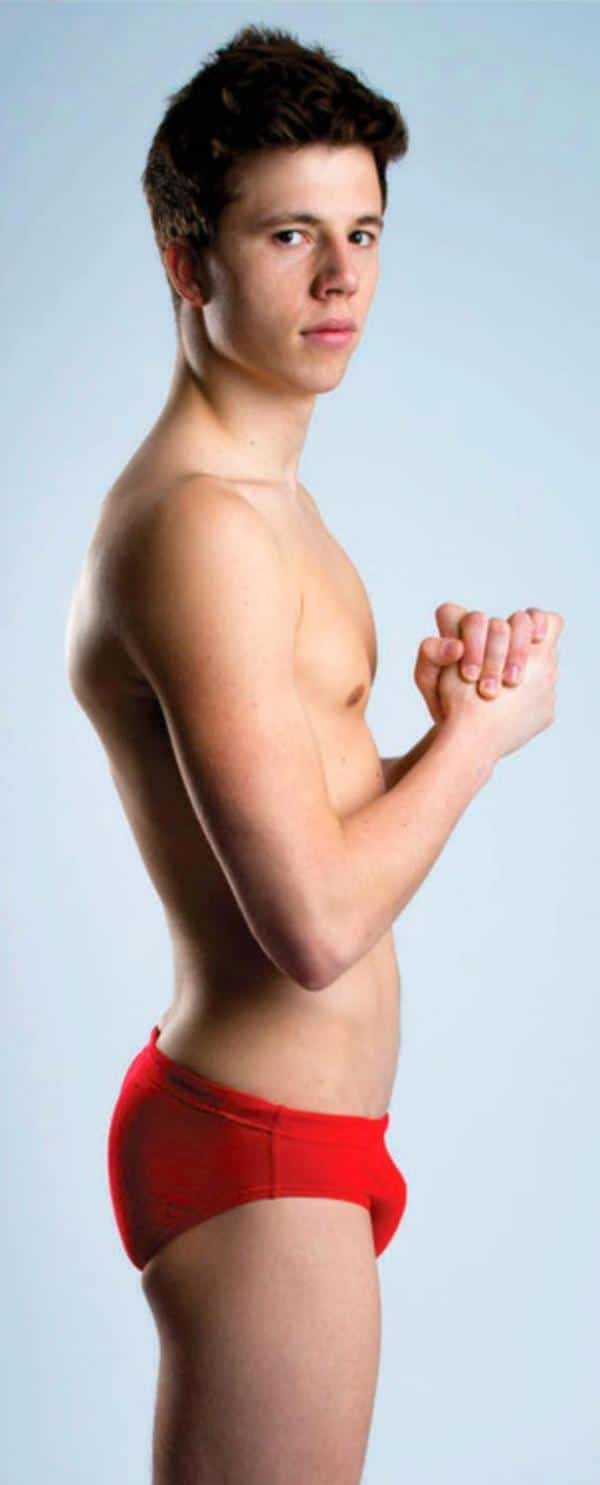 Freddie Woodward nudes