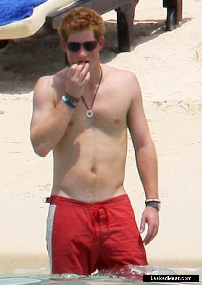 Prince Harry naked body