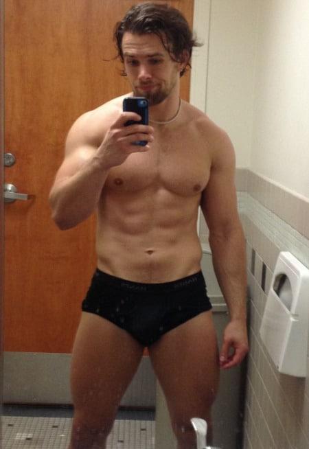 Brad Maddox selfie