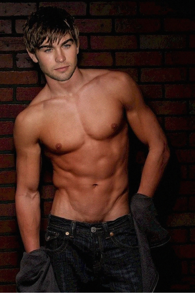 Chace Crawford sexy body pubic hair