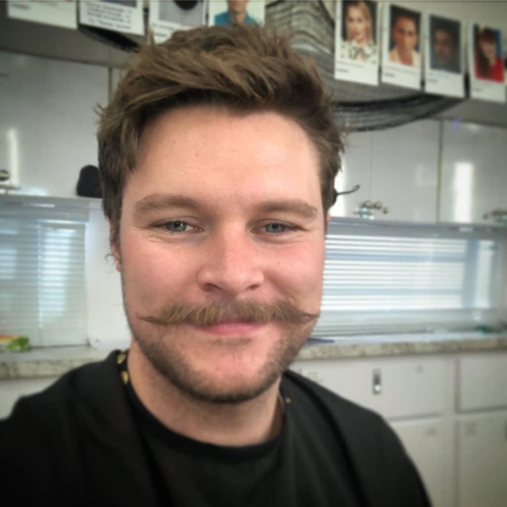 Jack Reynor sexy mustache