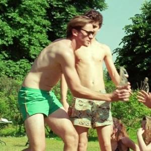 Timothee Chalamet shirtless pic
