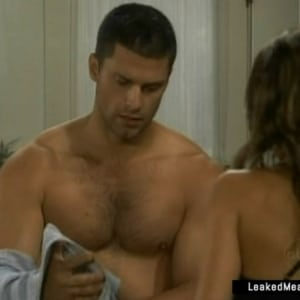 Greg Vaughan jerking off