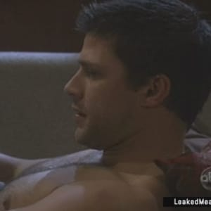 Greg Vaughan showing dick