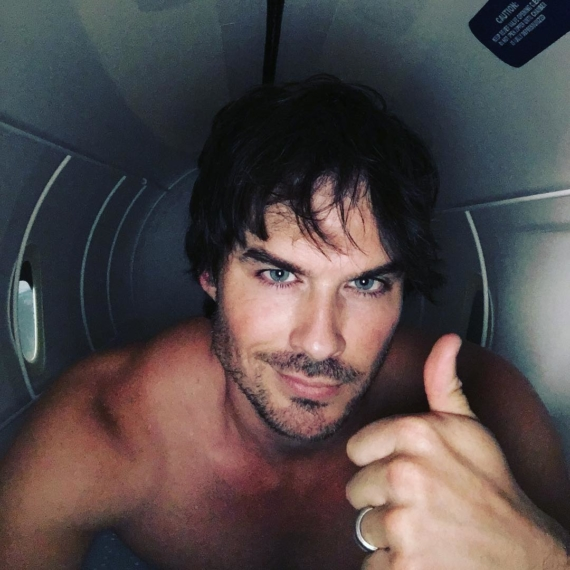 Ian Somerhalder hot selfie