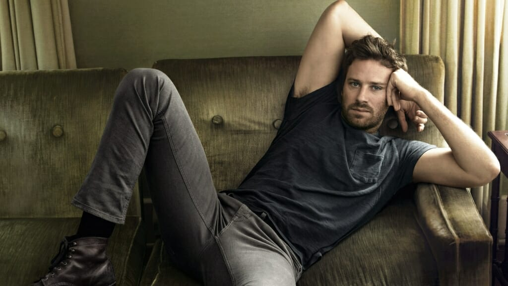Armie Hammer muscles