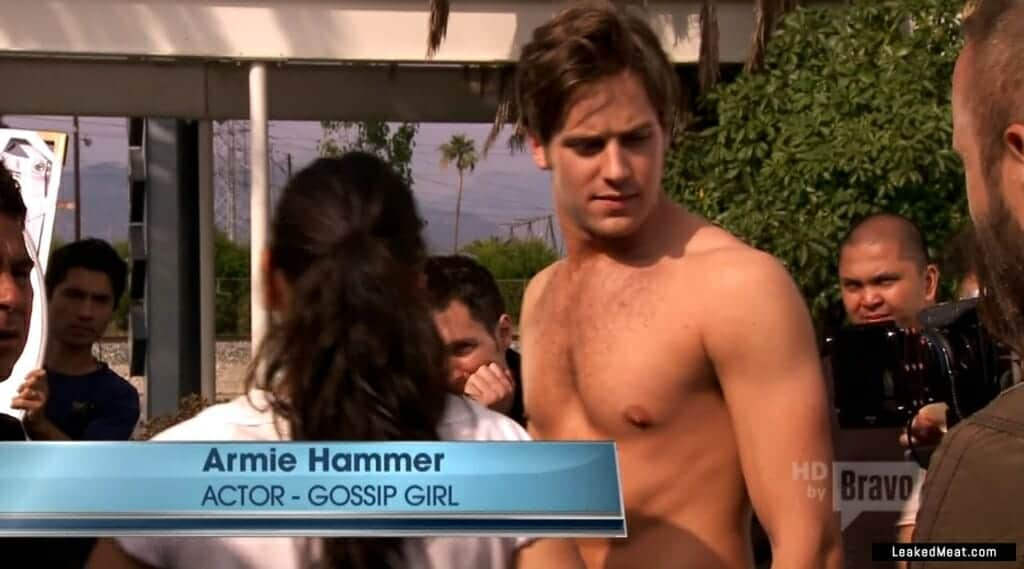Armie Hammer shirtless picture