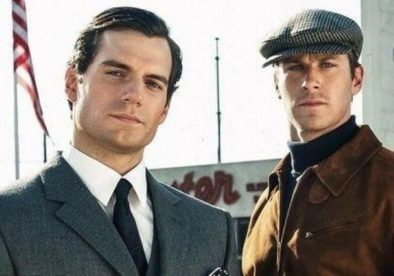 Henry Cavill and Armie Hammer hot photograph